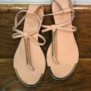 Glaze sandals